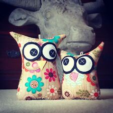 ❤️Owl Softies ❤️ MiniMe Set | Flowers on wood background | Baby | Girls | Gifts