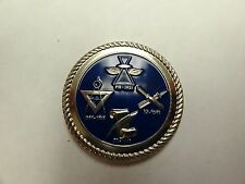 CHALLENGE COIN UNITED STATES NAVY ASK THE CHIEF PETTY OFFICERS MEDIA RATINGS