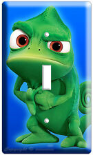 NEW PASCAL THE ANGRY CHAMELEON RAPUNZEL TANGLED MOVIE SINGLE LIGHT SWITCH PLATE