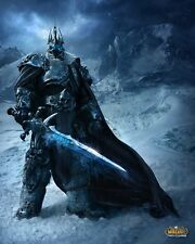 The Lich King Warcraft WOW Silk Wall Huge Poster 24x36 inches Free Shipping
