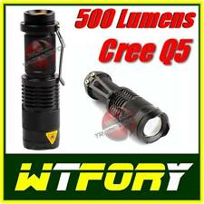 MINI TORCIA LED BAILONG BL8468 CREE Q5 RICARICABILE LED 500 LUMEN SOFTAIR