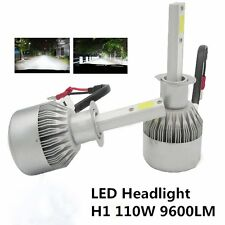 2x H1 110W 9200LM CREE Car COB LED Headlight Kit Beam Bulbs 6000K High Power