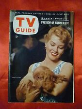New England June 9 1956 TV GUIDE YOUR HIT PARADE Patti Page Disney Looks at Love