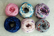 Tek-Tek T-shirt Fabric Yarn - Mixed Pack - Extreme Knitting Crochet #1