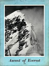 Ascent of Everest 1953 - signed by Ed Hillary, George Lowe and George Band