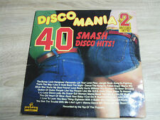 DISCO MANIA 40 SMASH HITS DISCO HITS 1976
