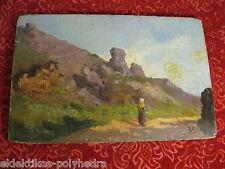 Versepuy Ernst 1855-1898 / Clermont-Ferrand / Huile sur bois 19e 19th XIXe Oil