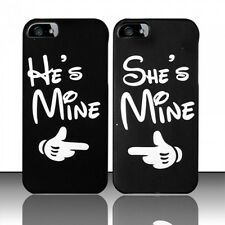 CUTE COUPLE HARD PLASTIC MATTE SNAP ON CASE FOR APPLE IPHONE 5 + FREE LCD GUARDS