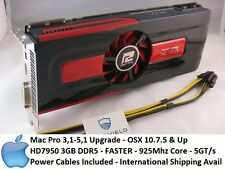 Apple Radeon HD7950 3GB GDDR5 PowerColor, Mac Pro 3,1-5,1 Power Cables, 587
