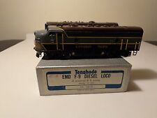 Tenshodo Models Canadian Pacific EMD F9 A-B set, in HO scale brass