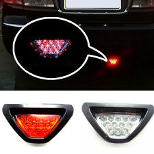 U Universal F1style 12-LED Red Rear Tail Third Brake Stop Light Safety Fog Lamp