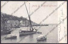 GROSSETO MONTE ARGENTARIO 07 PORTO SANTO STEFANO BARCHE Cartolina 1905 ALTEROCCA