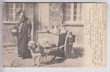 CPA  BELGIQUE EUROPE -  ATTELAGE DE CHIEN DOG VOITURE A LAIT ANVERS 1903 ~A42