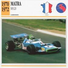 1970-1972 MATRA MS120 Racing Classic Car Photo/Info Maxi Card