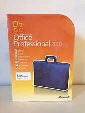Microsoft Office 2010 Professional For 2 PC - GENUINE - Full Version New!