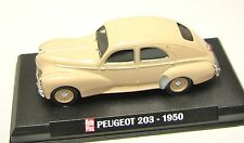 COLLECTION HACHETTE AUTO PLUS  IXO 1/43  PEUGEOT 203 BERLINE 1950 /3