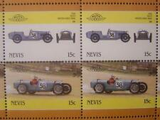 1930 RILEY BROOKLANDS NINE Car 50-Stamp Sheet / Auto 100 Leaders of the World