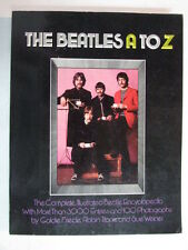 THE BEATLES A TO Z COMPLETE ILLUSTRATED ENCYCLOPEDIA 1ST EDITION PAPERBACK BOOK