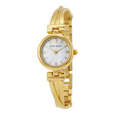 Anne Klein Mother of Pearl Dial Ladies Watch 1170MPGB