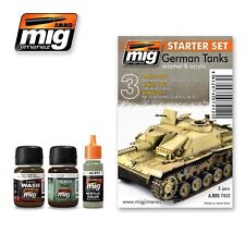 MIG PRODUCTIONS A.MIG7412 - STARTER SET GERMAN TANKS - NUOVO