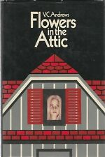 """1979 """"FLOWERS in the ATTIC,"""" V. C. Andrews- HARDCOVER/DUST JACKET (w/price)- G+"""