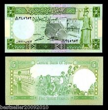 SYRIA 5 POUNDS UNC # 24