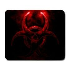 Red Glowing Biohazard Mouse Pad MP1035