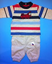 NEW! Okie Dokie Baby Boys 2 Pc Outfit Set Shirt Pants 0-3 Months Truck Gift Nice