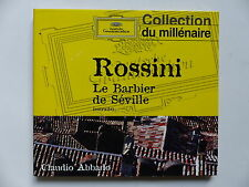 CD Album ROSSINI Barbier de Séville CLAUDIO ABBADO DG 459184 2