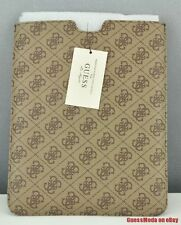 Nuovo Borsa GUESS Satchel Tote Ipad Case Ladies Marrone Donna NeuF Authentic