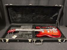 Eastwood K200 Deluxe Electric Guitar in Wine Burst & Case #1683