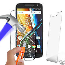 100% Genuine Tempered Glass Film Screen Protector for Motorola Moto G4 Plus