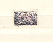 FRANCIA  1041 - TURISMO, MARTINICA 1955 -  MAZZETTA DI 15 USATO - VEDI FOTO
