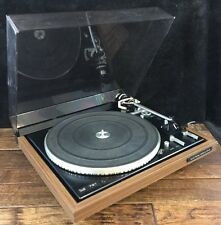Dual 721 Direct Drive Automatic Turntable Shure Premier Cartridge Work See Video