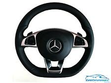 AMG Mercedes Benz Sport Steering Wheel with Airbag OEM Genuine 2016 W213 Black L