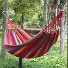 Large Cotton Canvas Fabric Hammock Air Chair Hanging Swinging Camping Outdoor