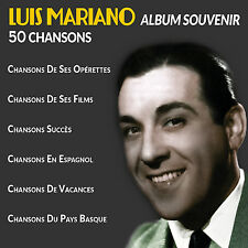 CD Luis Mariano - Album Souvenir : 50 Chansons / IMPORT