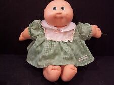 VINTAGE CABBAGE PATCH KIDS DOLL PREEMIE NO HAIR GREEN EYES 1978-1982 GIRL