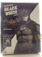 DC DIRECT BATMAN BLACK AND WHITE ARKHAM ASYLUM STATUE NEW Maquette Joker Bust