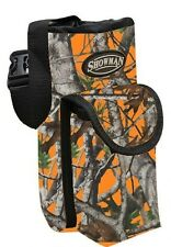 Showman ORANGE REAL OAK CAMOUFLAGE Nylon Insulated Water Bottle Carrier/Holder!!