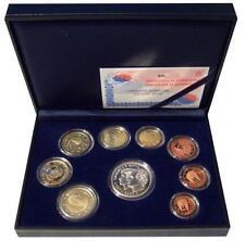 ESPAÑA 2002 : Estuche completo del Euro calidad proof Incluye 12 € plata