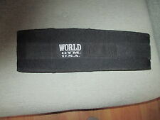 WORLD GYM NEOPRENE TRAINING BELT