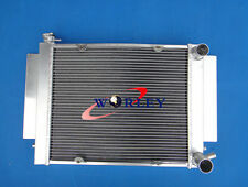 3ROW Aluminum Radiator for MAZDA RX2 RX3 RX4 RX5 RX7 1969-1983 MT S1 S2 R2/3/4/5