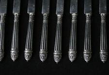 12 couteaux à dessert en argent massif/ 12 dessert knives solid silver