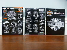 Harley-Davidson Family Decal Kitz and Bar & Shield Die Cutz Decal Stickers NEW