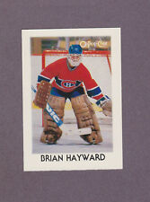 1987-88 OPC Hockey Mini Brian Hayward #15 Goalie Montreal Canadiens NM/MT