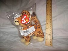 "TY BABY JAGUAR 6"" BEANIE BABIES - GO DIEGO GO - New in Bag with Tag"