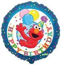 "Sesame Street Elmo Happy Birthday 18"" Foil Balloon"