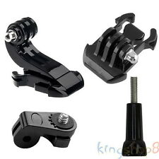 4in1 J-Hook Basic Mount Adapter Screw for Sony Action Cam GoPro Hero 4/3+/3/2/1