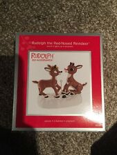 Rudolph The Red nosed Reindeer Heirloom Ornament Sound/Lights Up
